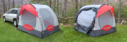CampRight SUV Tent Without Screen Room