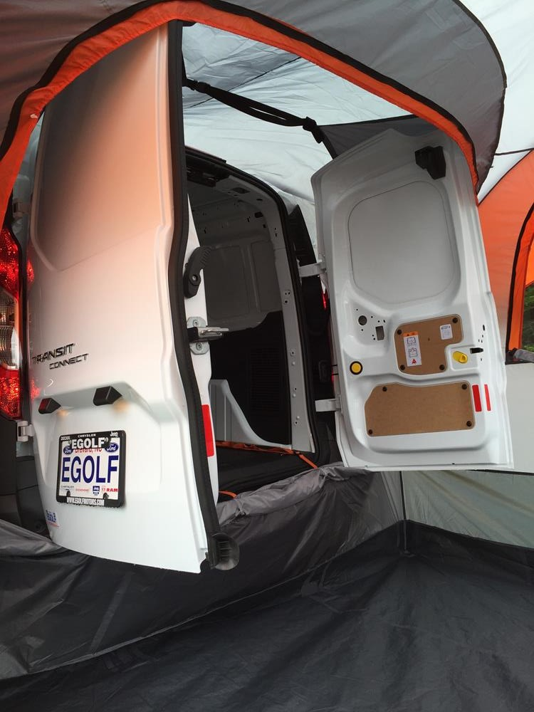 029 & Ford Transit Connect | SUV Tent | Rightline Gear
