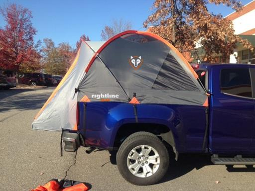 Colorado 3 & Chevy Colorado | GMC Canyon | Truck Tents | Rightline Gear
