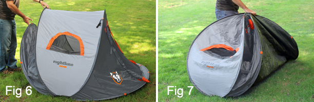 Turn the pop up tent to the vertical position with the buckle strap on the bottom half (Fig 8 and Fig 9). Twist the top half of the tent with your other ... & campandcargosupply | eBay Stores