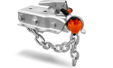 Anti-Theft Trailer Coupler Ball